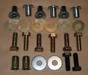 03-06 TJ Nutsert Kit with Hardware & Auto Trans Skid w\Hardware