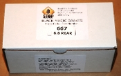 8.8 Rear Disc Brakes: Rear Black Magic Brake Pads (667)